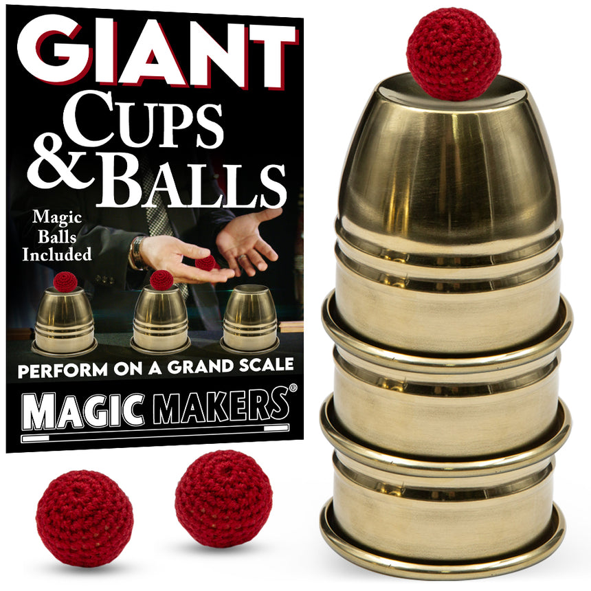 Giant Cups and Balls
