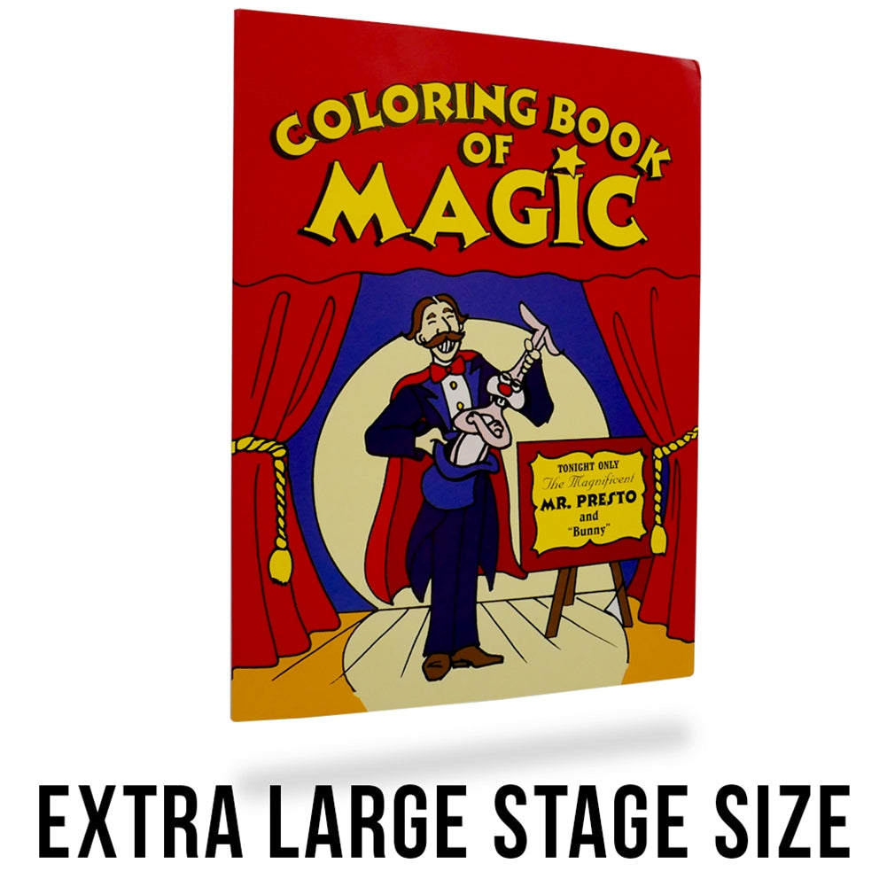 Magic Tricks for Kids - Magic Coloring Book Large
