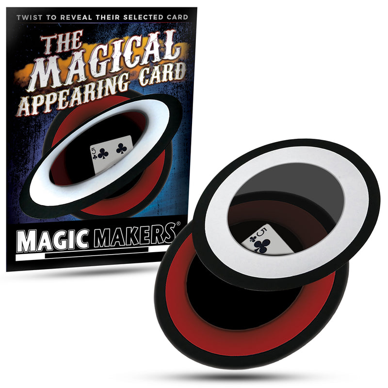 Magical Appearing Card - Halographic Card