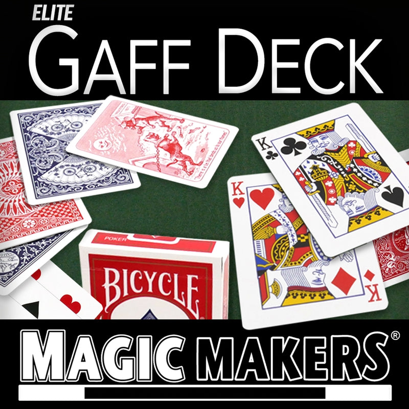 Elite Gaff Blue Deck (red tuck case)