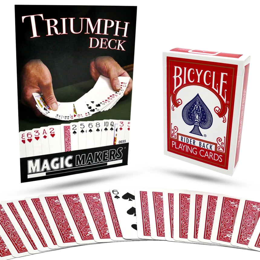 Triumph Magic Deck by Magic Makers