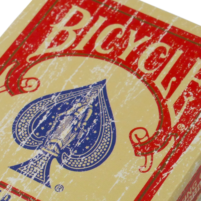 Bicycle Rider Back Faded Red Deck