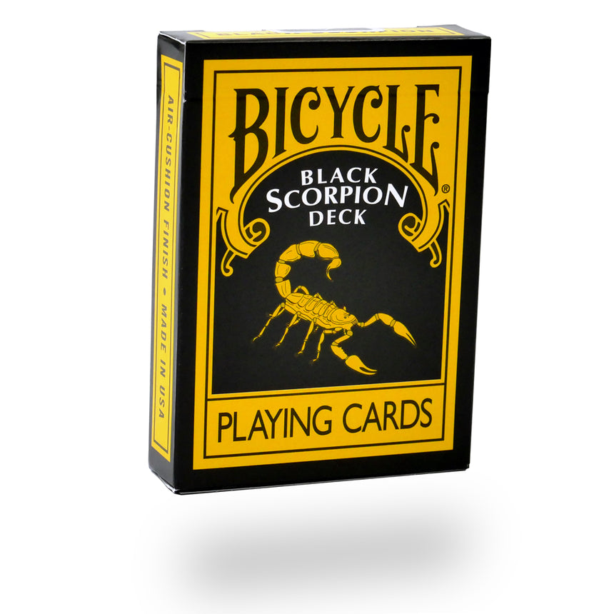 Black Bicycle Poker Deck