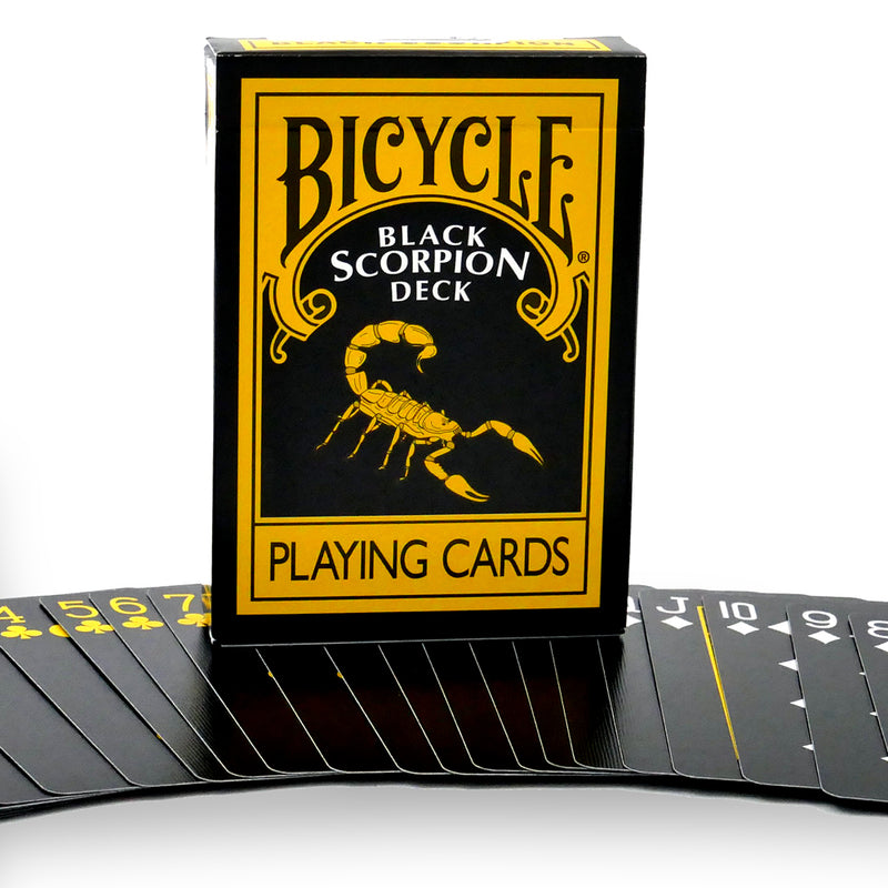 Black and Yellow Bicycle Poker Deck by Magic Makers