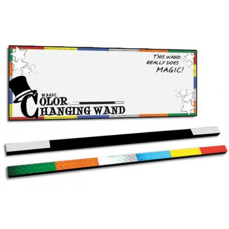 Magic Color Changing Wand & Instructions