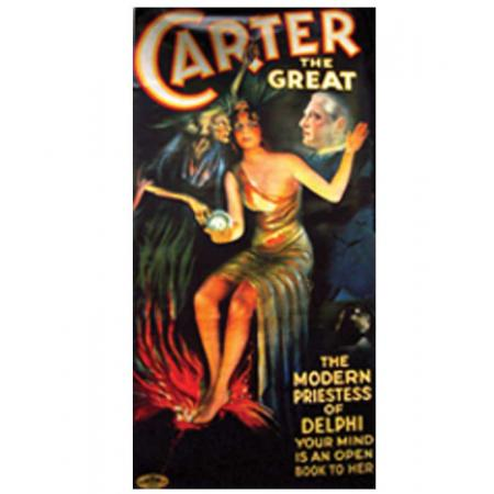 Carter the Great Magician Poster