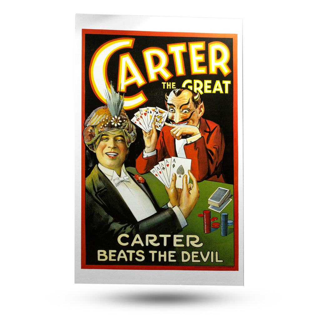 Carter Beats The Devil Poster Window Card