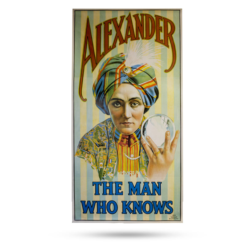 Magic Poster - Alexander - The Man Who Knows