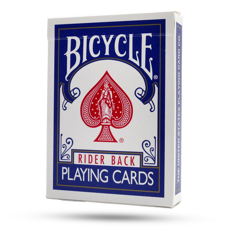 Bicycle Blue Double Back Deck