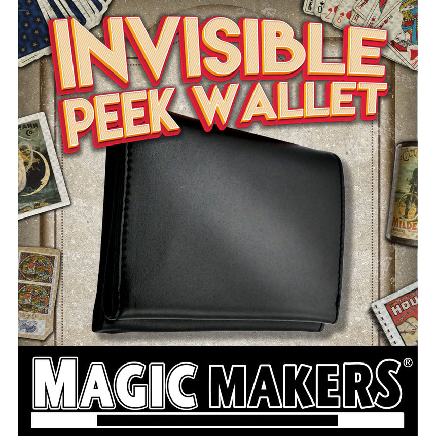 Invisible Peek Wallet