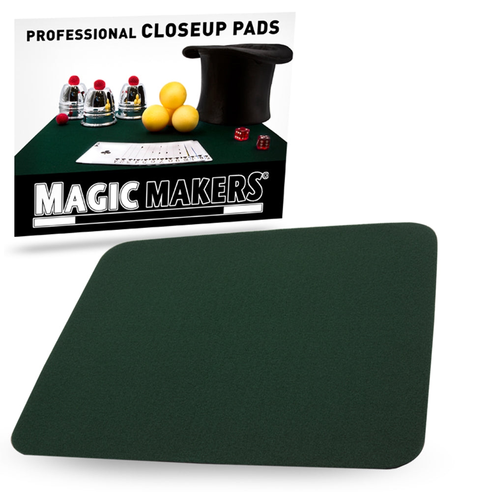 Medium Size Close-up Pad (Hunter Green) 13.75  x 10.75