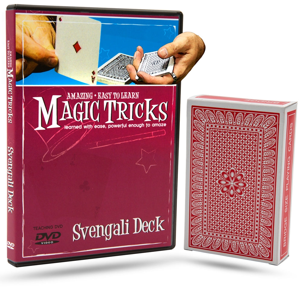 Magic Tricks You Can Master: Svengali Deck Combo
