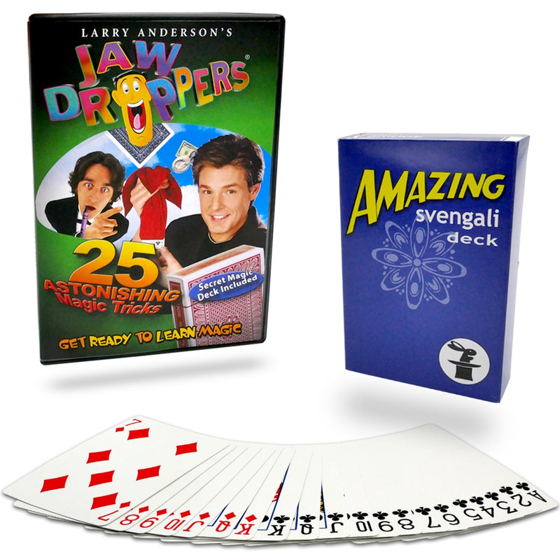 25 Magic Tricks DVD and Svengali Deck Kit
