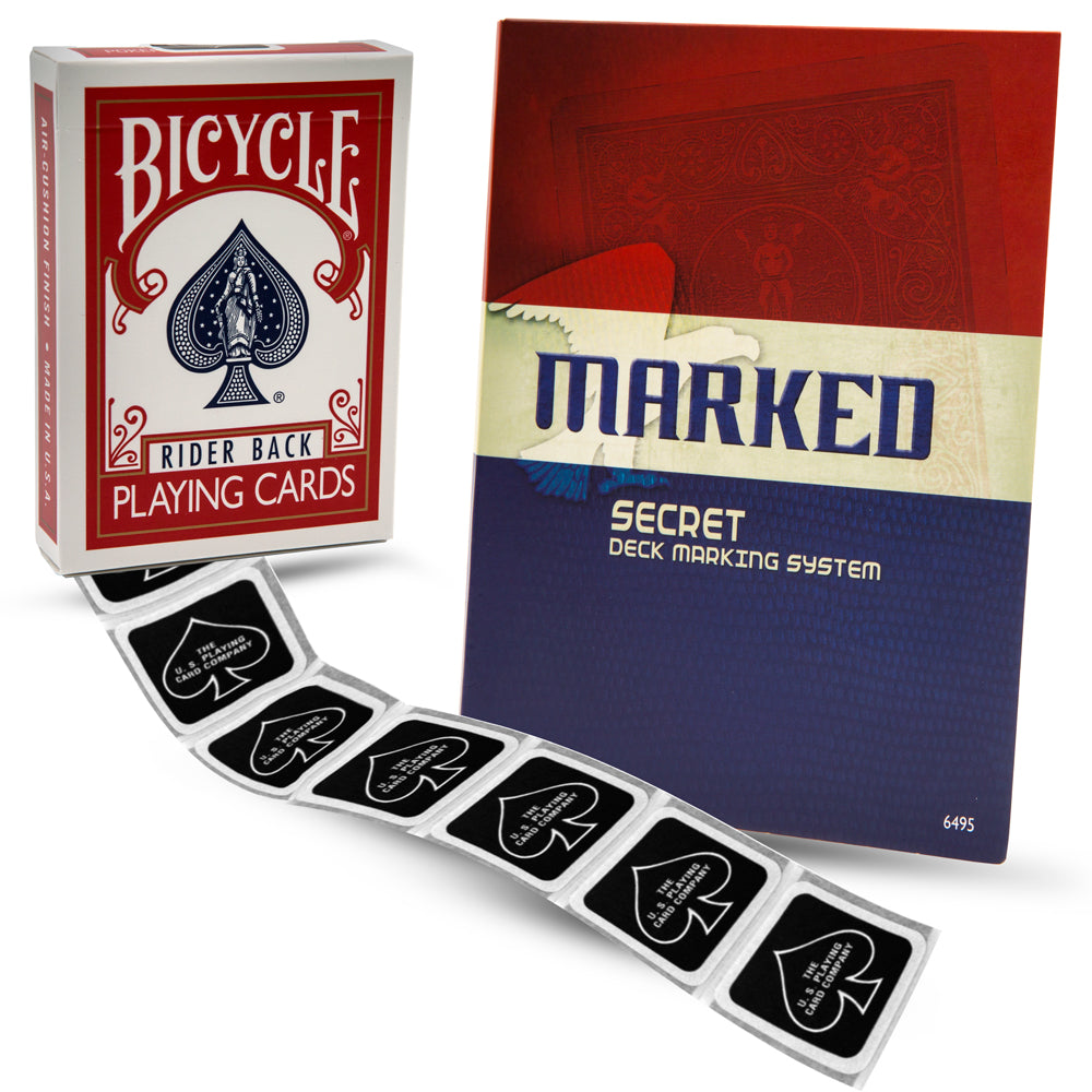 MARKED - Bicycle Marked Deck Kit