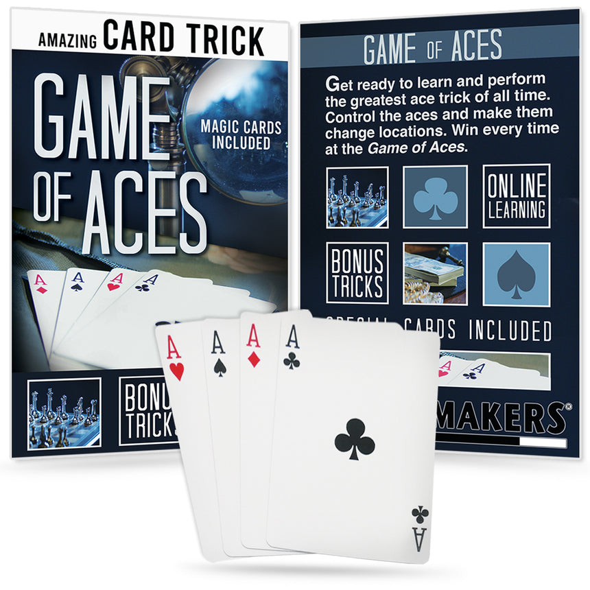 Game of Aces - AKA McDonald's Aces Trick