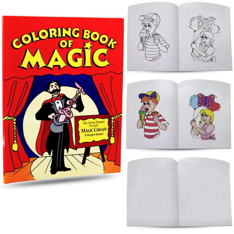 Easy Magic Tricks for Kids - Magic Coloring Book