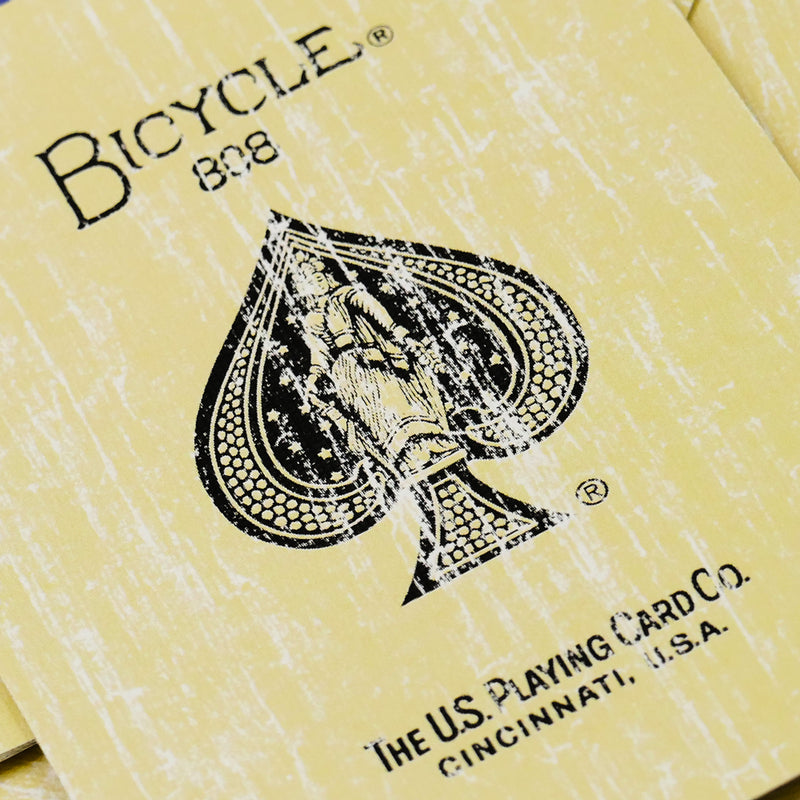 Bicycle Rider Back Faded Blue Deck