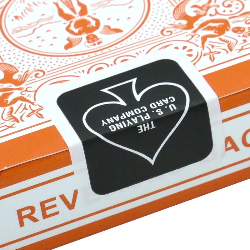 Reversed Back Bicycle Deck - Orange