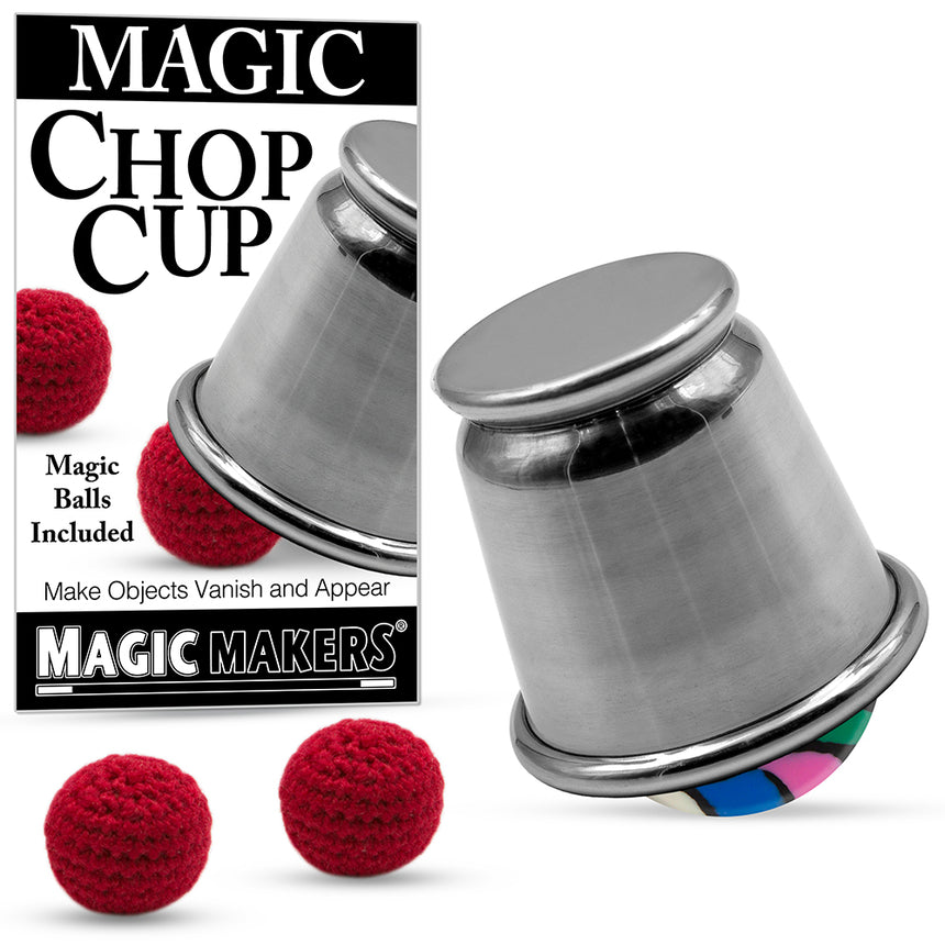 Chop Cup Kit with Props & Online Training