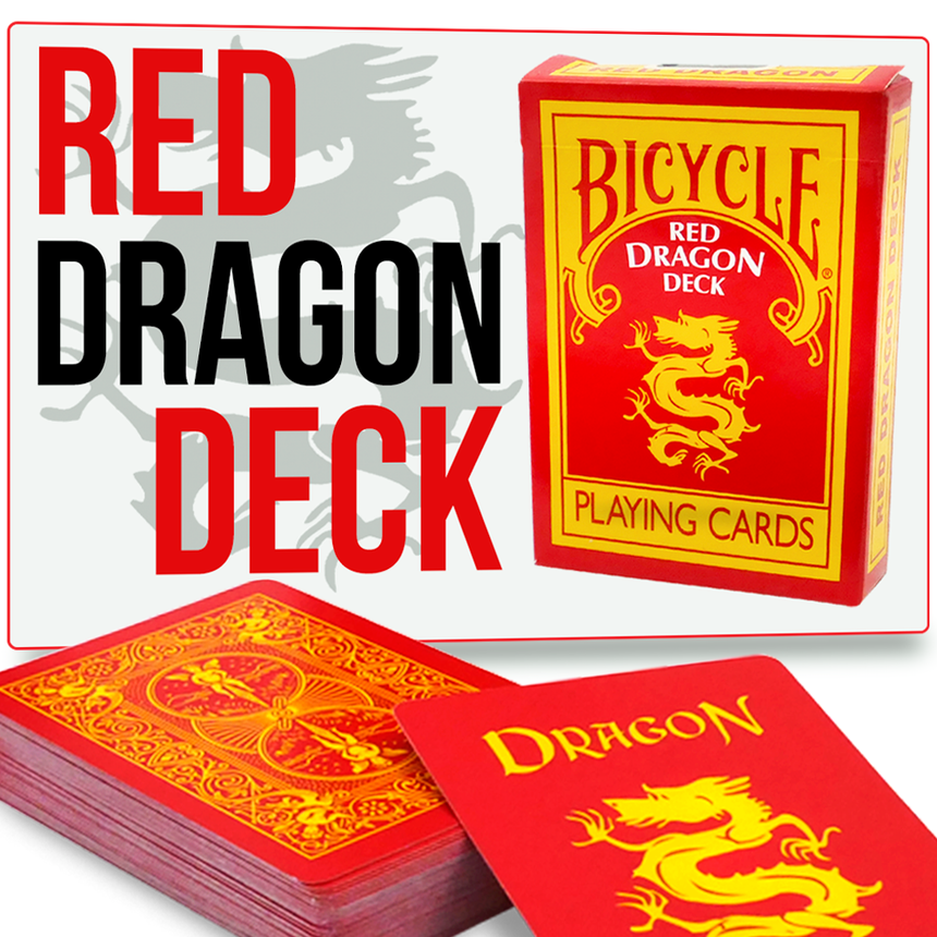 Red Dragon Deck Bicycle