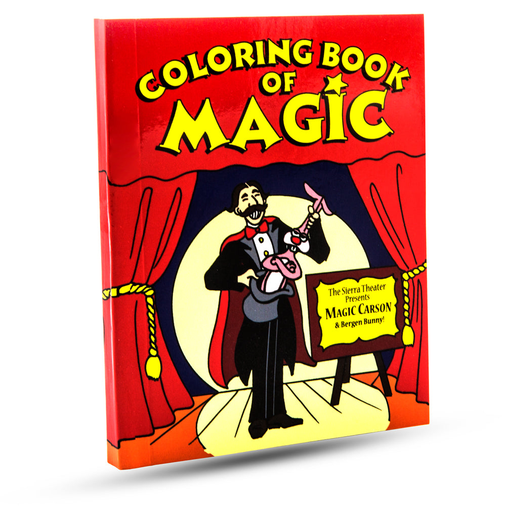Magic Coloring Book - Pocket Size 5 X 4 in.