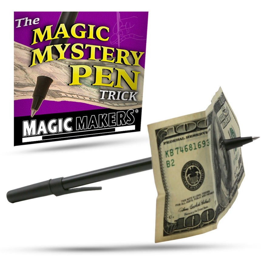 Magic Mystery Pen - Complete Course Included