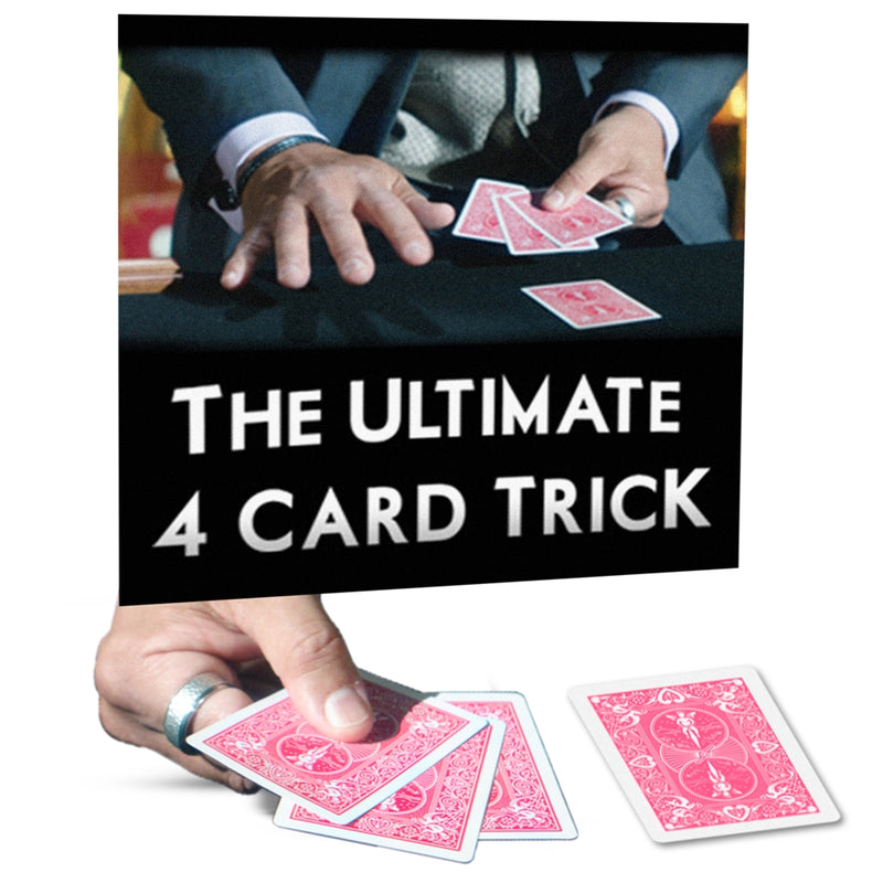 Ultimate 4 Card Trick by George Bradley