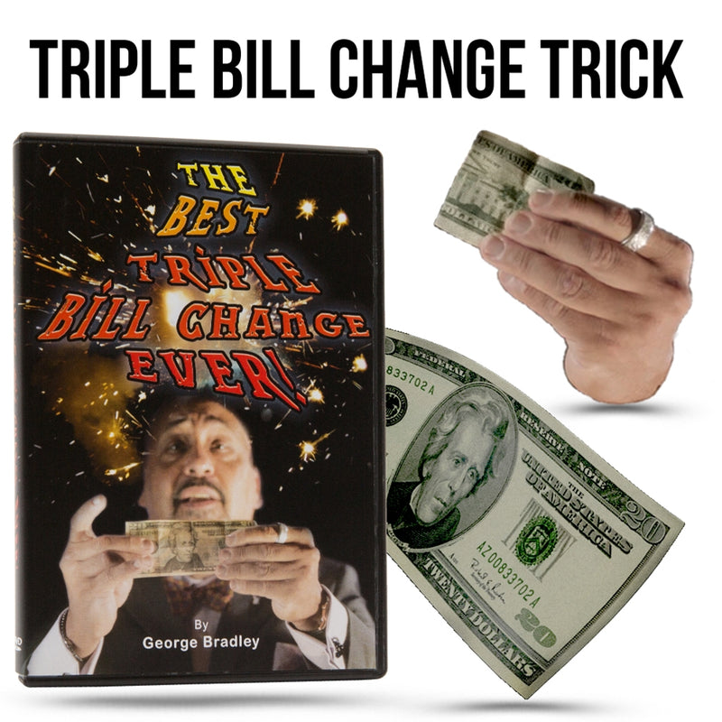 Triple Bill Change by Magic Makers