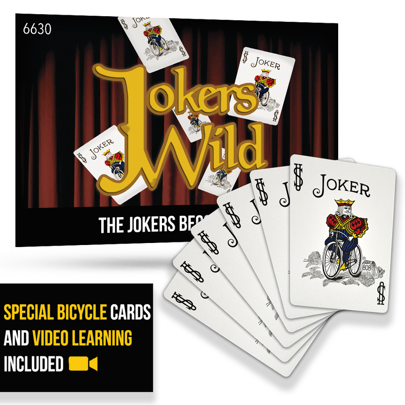 Jokers Wild Digital Download - Special Bicycle Cards Included