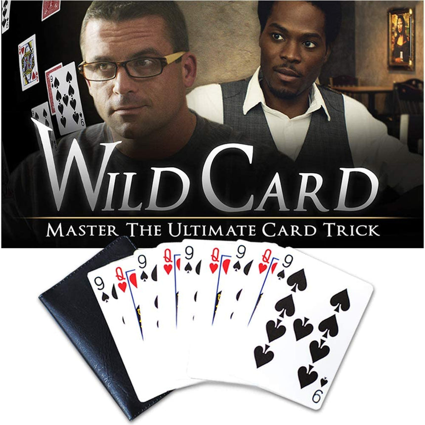 Wild Card Trick Kit - Professional Card Trick