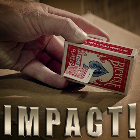 Impact - Card Penetration Magic Trick
