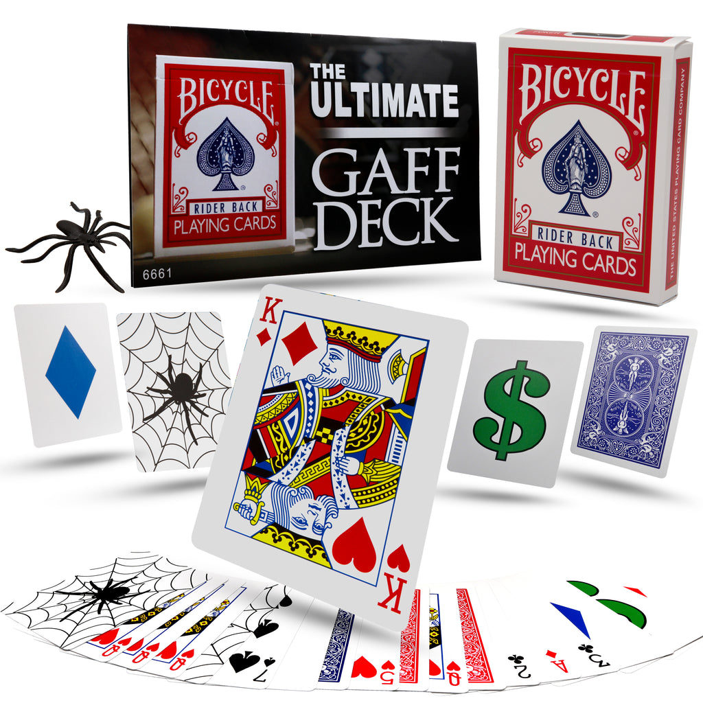 Magic Gaff Cards by Magic Makers - Ultimate Bicycle Gaff Deck
