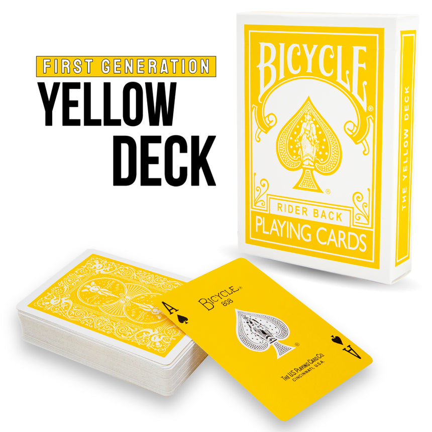 First Generation Bicycle Yellow Deck