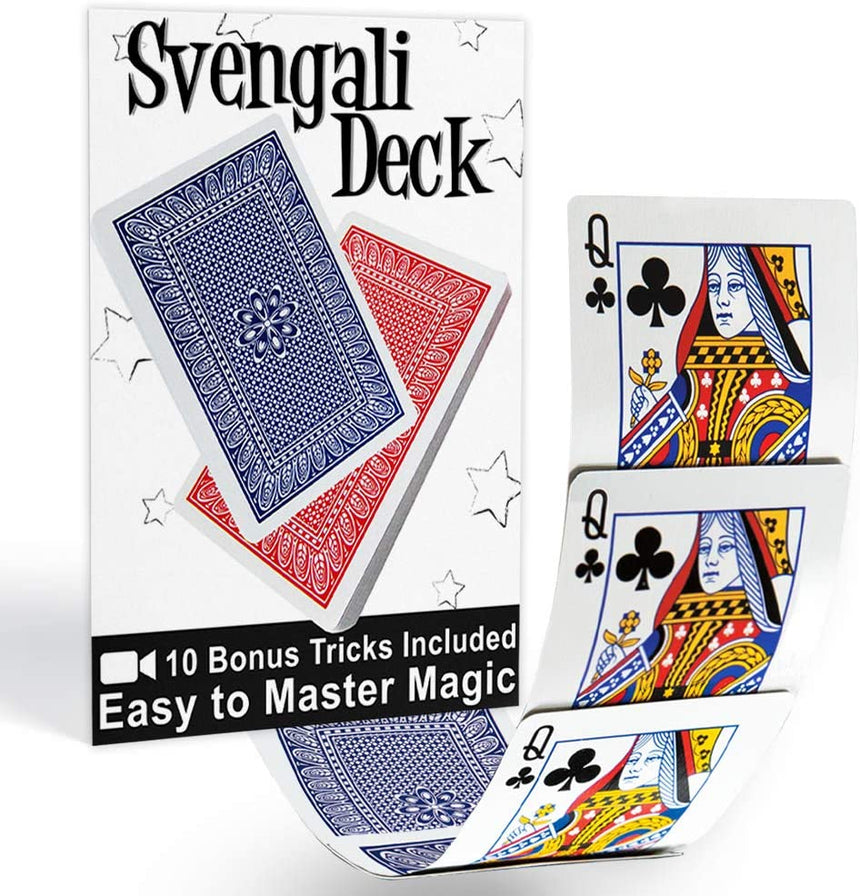 Svengali Deck Pro Brand Bridge  (Red or Blue)
