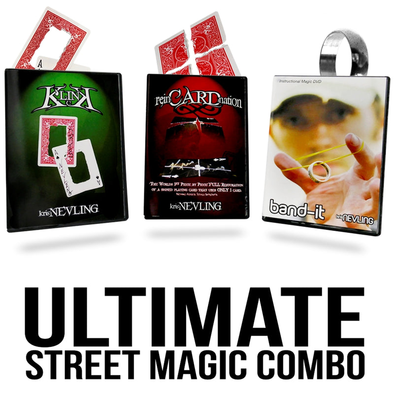 Ultimate Street Magic Combo DVD Set