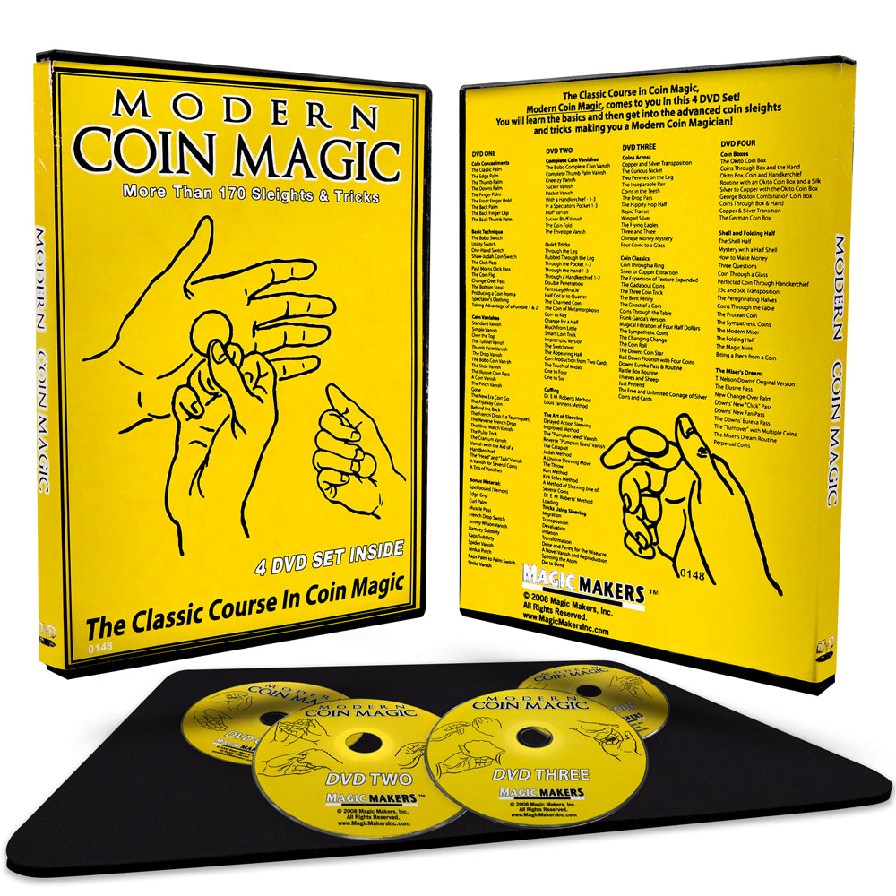 Modern Coin Magic with Performance Pad