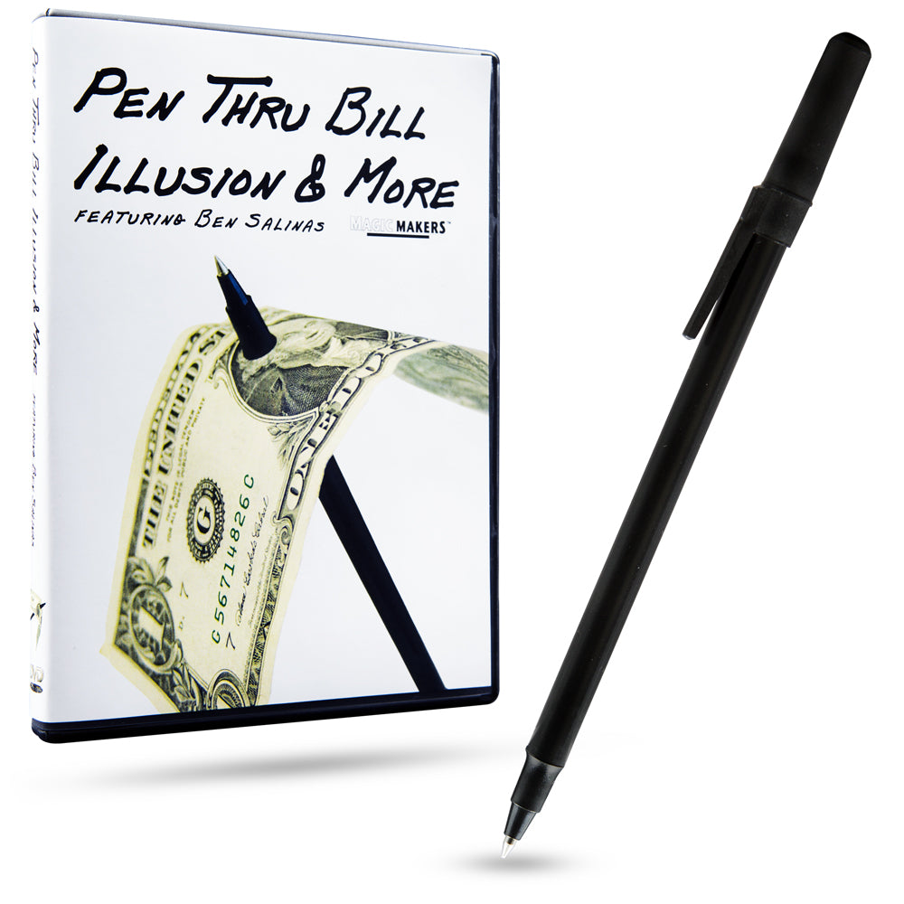 Pen Thru Bill DVD and Magic Pen