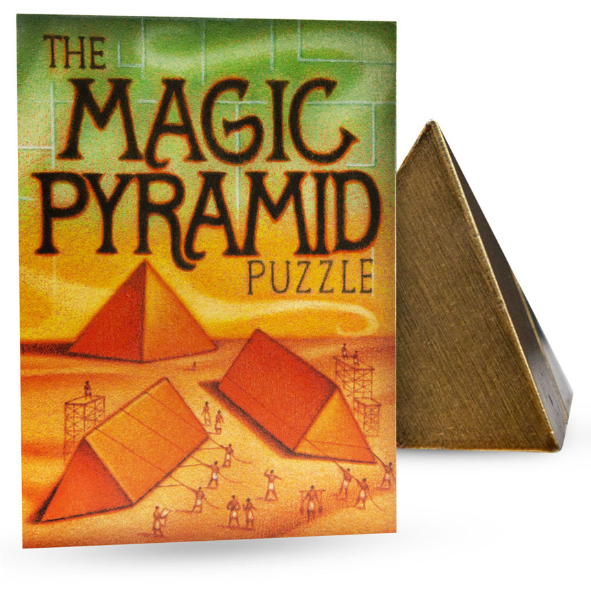 Magic Pyramid Puzzle