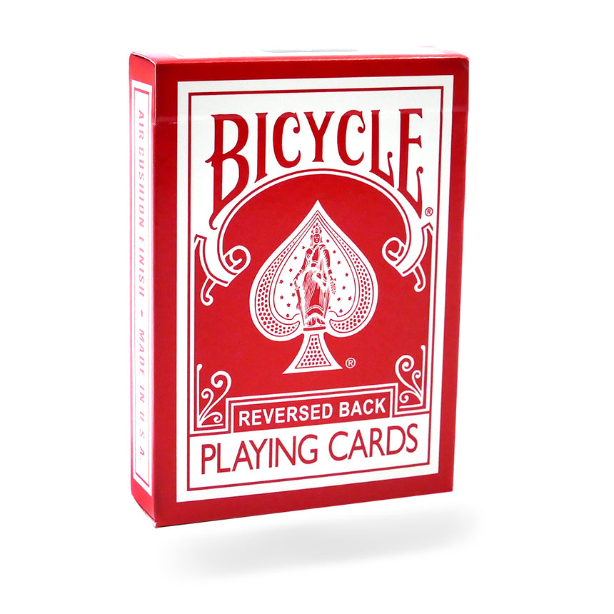 Reversed Back Bicycle Deck - Red