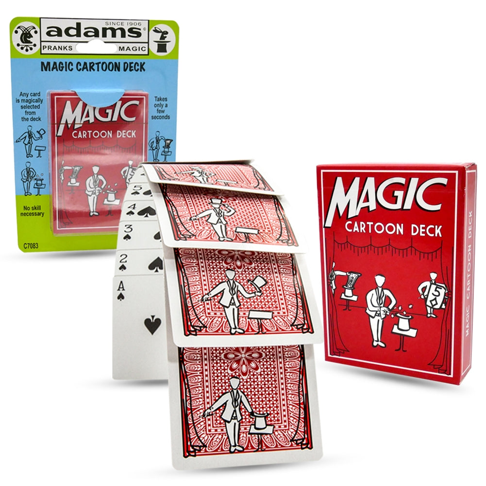 Magic Cartoon Deck Magic Trick
