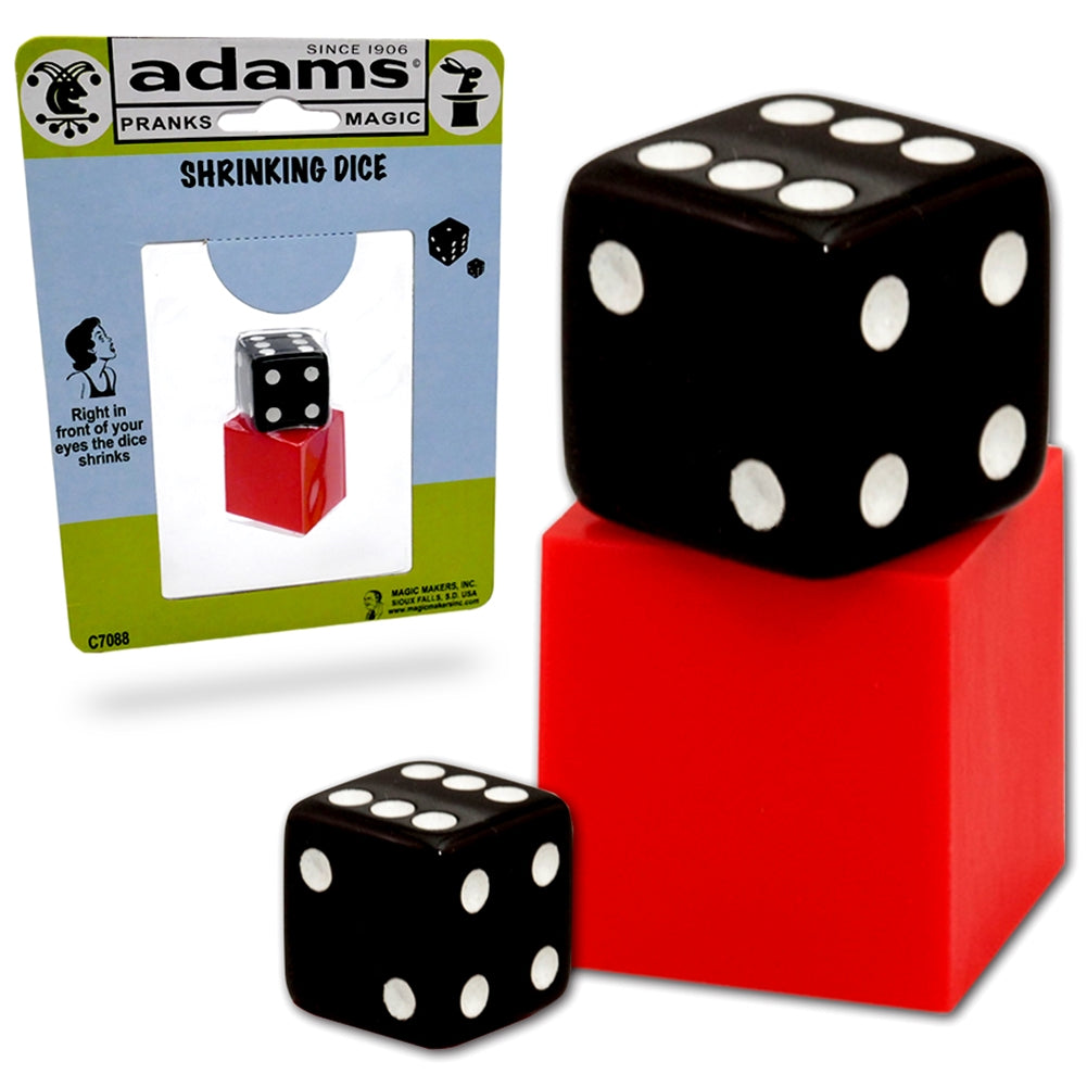 Shrinking Dice Magic Trick