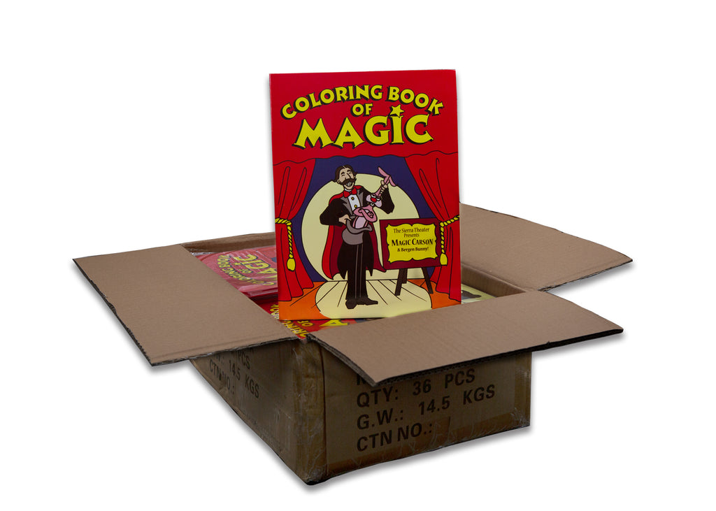 Magic Coloring Book Case