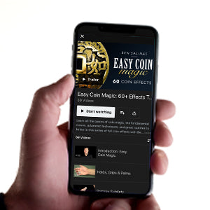 Easy Coin Magic with Ben Salinas - Instant Download and Streaming Access