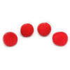Four Red Magic Sponge Balls