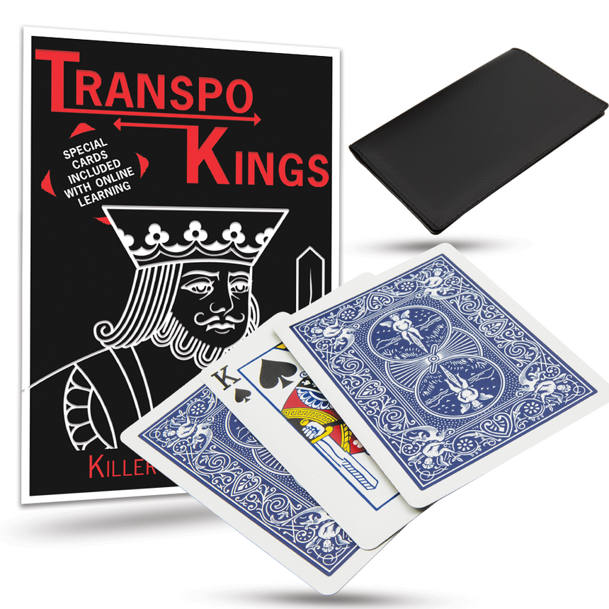 Transpo Kings Card Trick - With Special Bicycle Cards