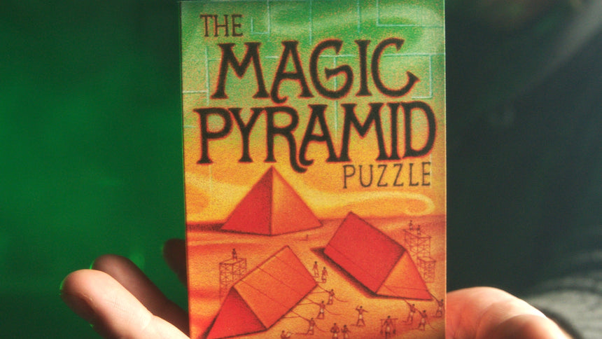 Magic Pyramid 2 piece Puzzle - Lightweight Edition by Magic Makers
