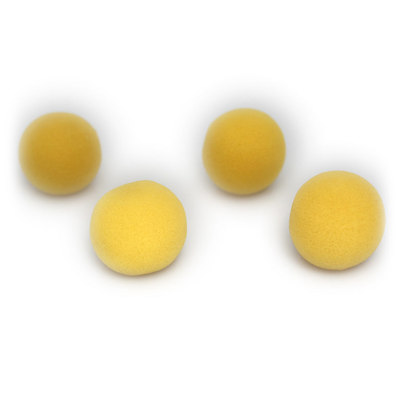 Magic Sponge Balls in Yellow