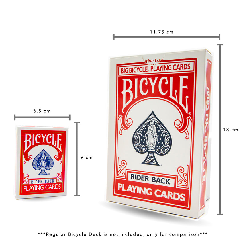 Jumbo Red Bicycle Deck