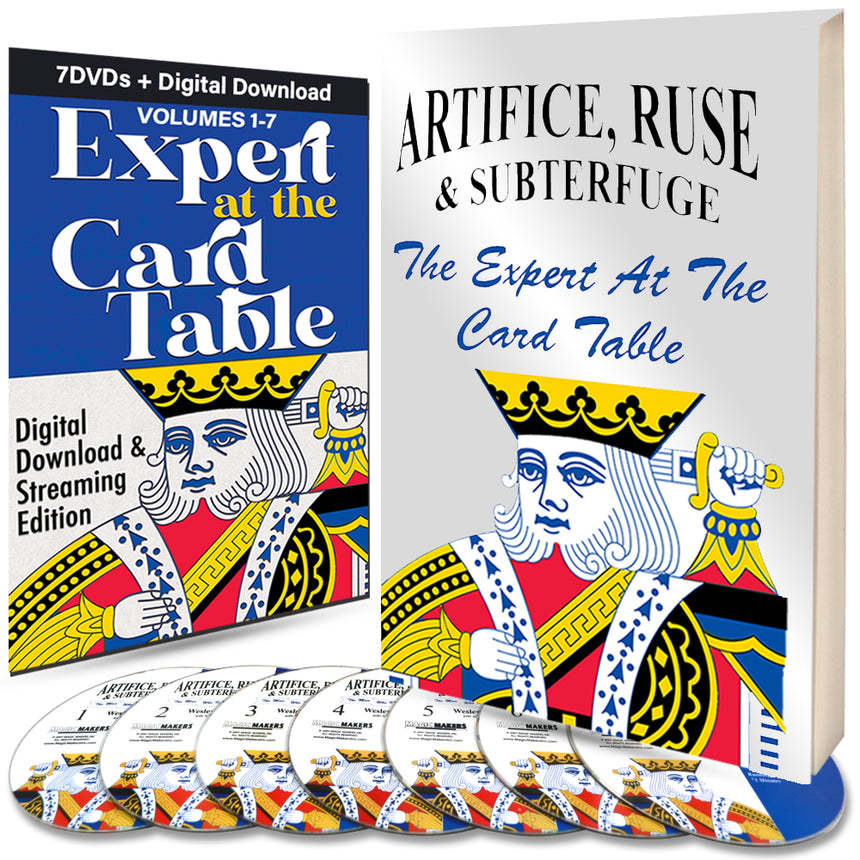 Expert at the Card Table - Expert Card Magic Bundle - Instant Download and Streaming Access