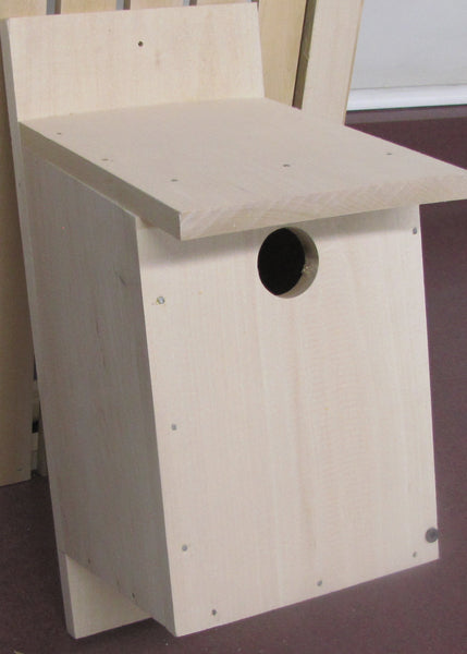 Blue Bird House (Unassembled Kit) - My Wood Crafting